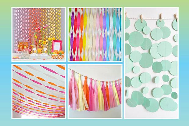 Фото №1 - 5 бумажных украшений для вечеринки