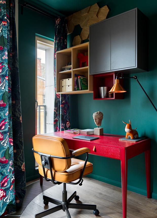 Фото №16 - Необычная яркая квартира 78 м² в центре Петербурга