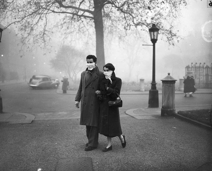 Фото №2 - Химики раскрыли тайну смертоносного тумана в Лондоне