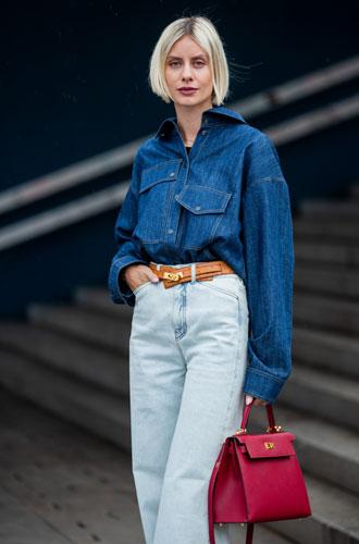 Фото №3 - Расширяем гардероб: 5 способов носить джинсовую рубашку в офис