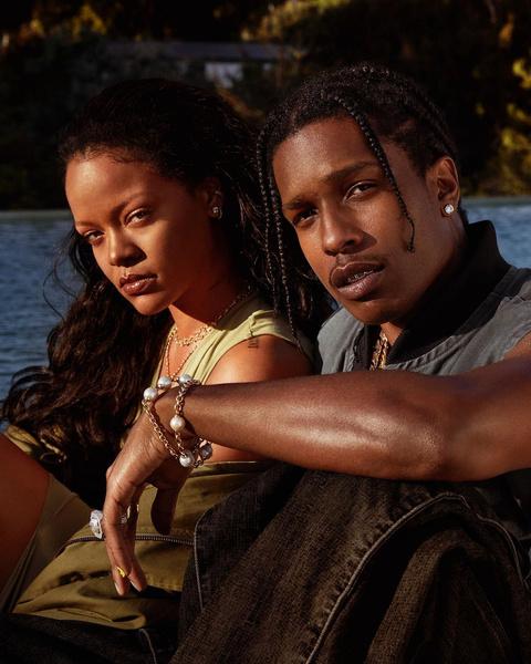 Фото №1 - WHAT?! Рианна и A$AP Rocky— пара?
