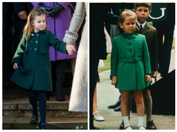 Фото №1 - Одно лицо: принцесса Шарлотта и ее истинный двойник в королевской семье