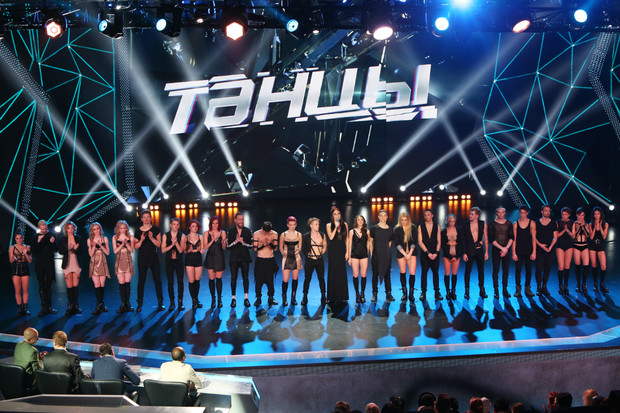 Кадр из шоу ТАНЦЫ на ТНТ
