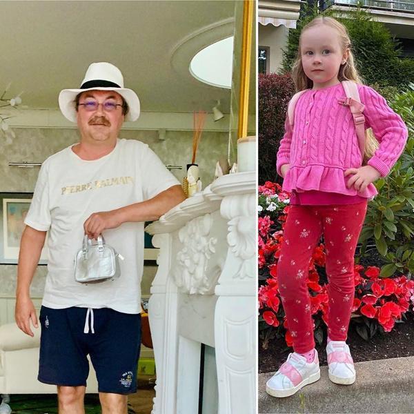 Фото №2 - Надо видеть: 4-летняя дочь Игоря Николаева нарядила папу