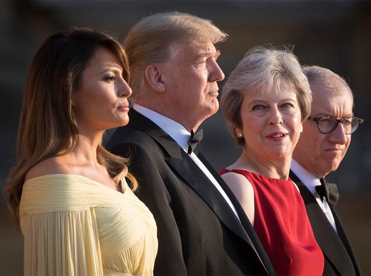 Фото №11 - Мелания Трамп «украла шоу» на гала-ужине в Бленхеймском дворце
