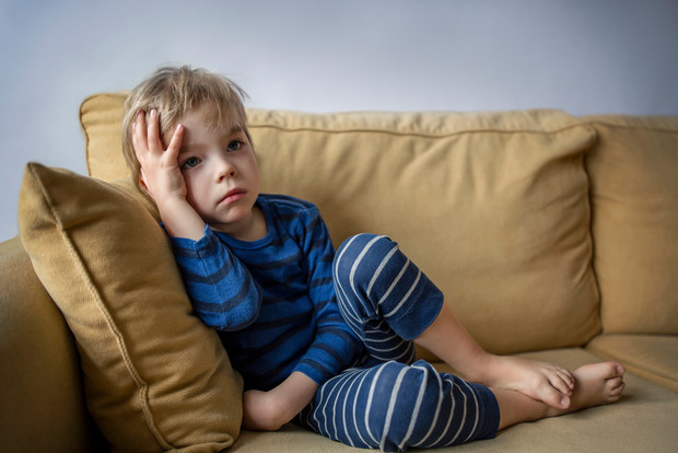 Тревожный ребенок как ему помочь