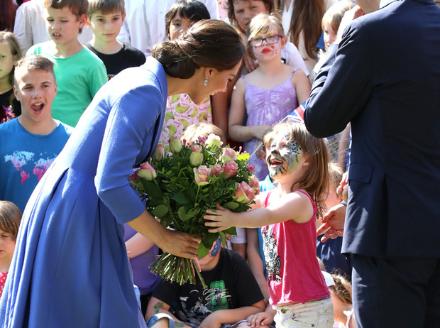 Фото №3 - Немецкие СМИ признали Кейт Миддлтон второй принцессой Дианой