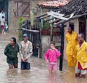Фото №1 - Ноэль принес на Кубу самые сильные наводнения за 40 лет