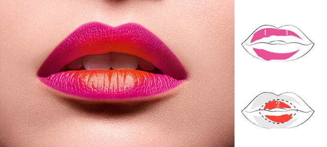 Фото №4 - Градиент и «радужные» губы: как еще носить новую помаду Matte Shaker от Lancôme