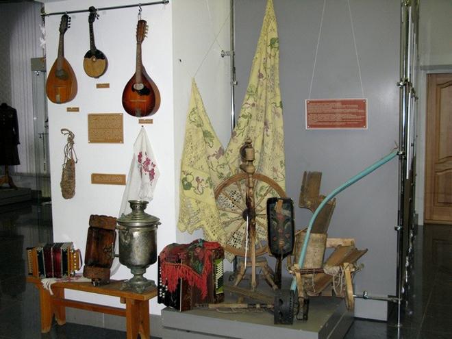 В небольших музеях можно встретить массу интересных и неожиданных экспонатов.