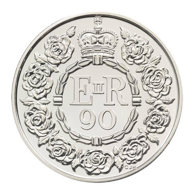 Фото №2 - Выпущены юбилейные монеты в честь 90-летия Елизаветы II