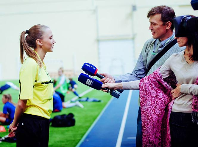 Фото №2 - Самый красивый арбитр в русском футболе ─ Екатерина Костюнина