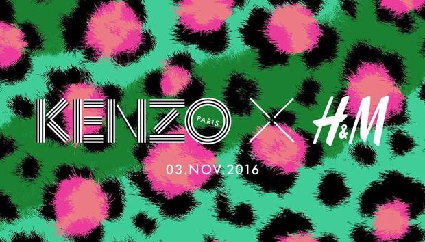 Фото №1 - H&M объявили о коллаборации с KENZO