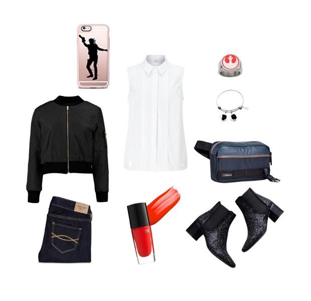 Фото №6 - Что носить в марте: 5 модных образов в стиле «Звездных Войн»