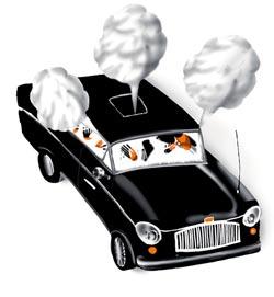 Фото №1 - Почему у пьяного водителя запотевают стекла в машине?