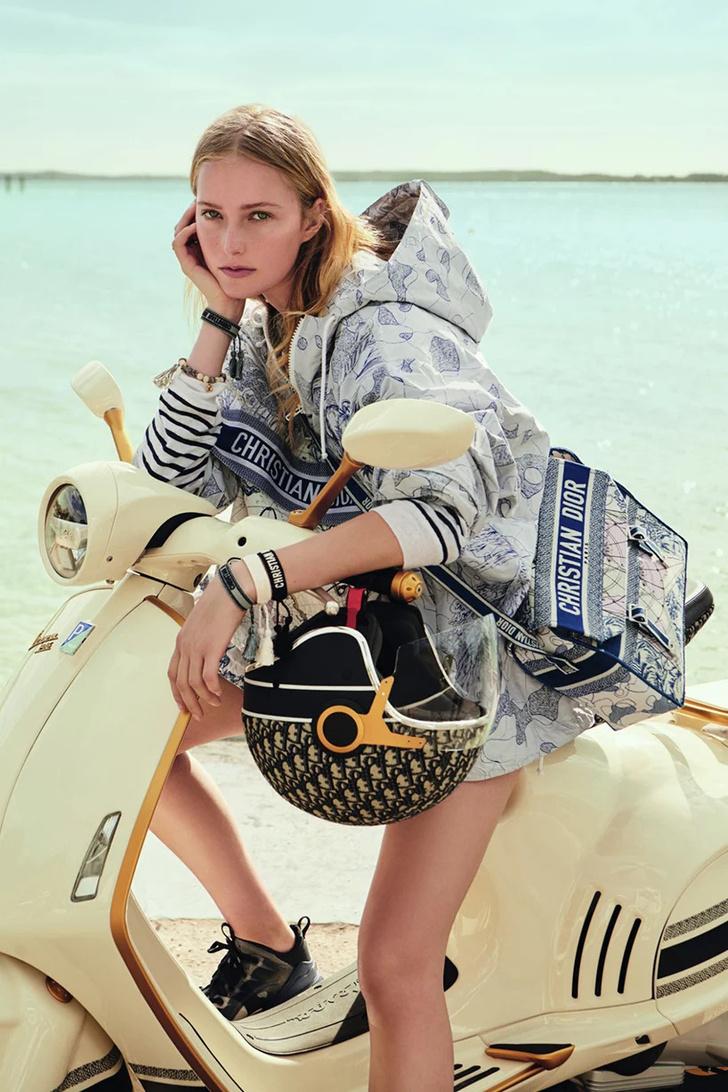 Фото №1 - Скутер haute couture: коллаборация Vespa и Dior