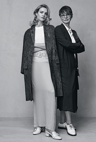 Фото №3 - Наталья Водянова и Ирина Хакамада: сложный разговор