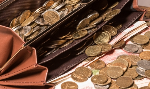 Фото №1 - В Приамурье педиатр получила зарплату — два мешка денег
