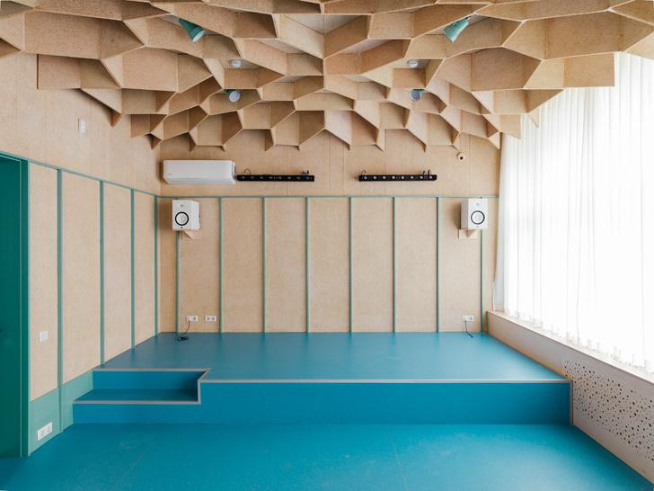 Фото №3 - Музыкальная школа с креативным интерьером в Москве