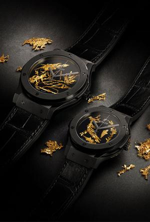 Фото №4 - Hublot представили новинку, украшенную кристаллами золота