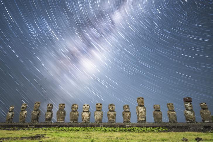 Фото №1 - Один кадр: остров Пасхи
