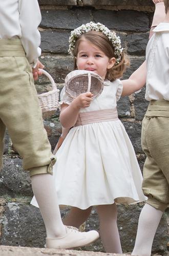 Фото №4 - Принцесса Шарлотта Кембриджская: третий год в фотографиях