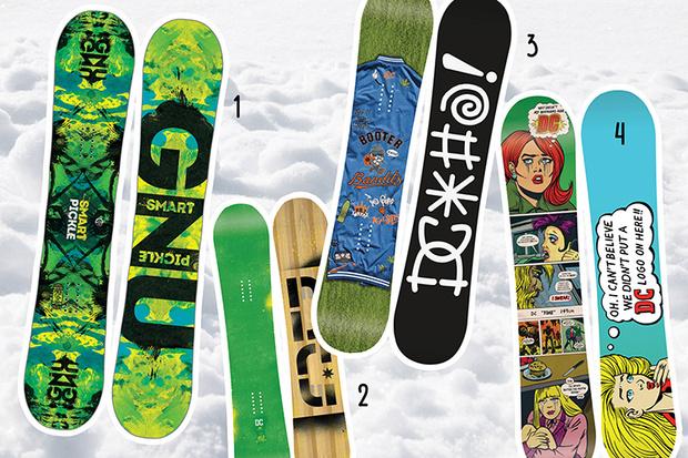 Фото №1 - 20 крутых сноубордов