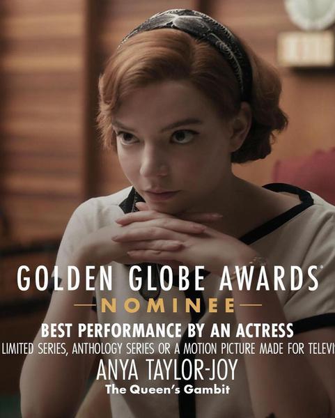 Фото №4 - Скорее смотри: шикарный образ Ани Тейлор-Джой покорил «Золотой Глобус»