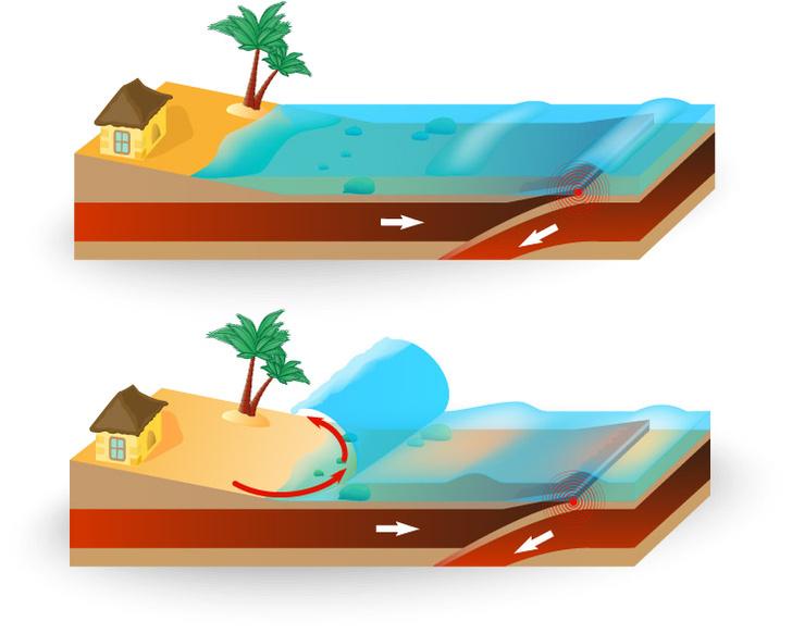 Фото №1 - Почему цунами не страшен капитанам?