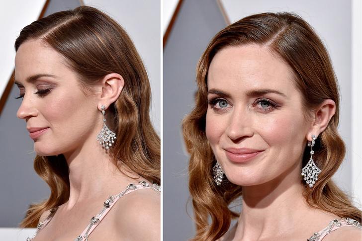 Эмили Блант оскар 2016 макияж