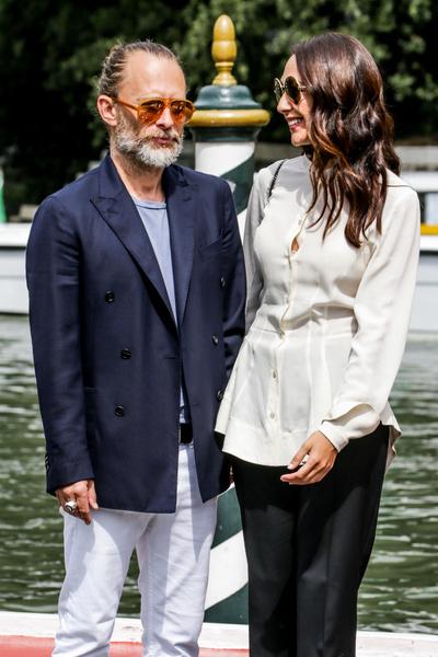 Фото №2 - Лидер группы Radiohead Том Йорк женился на итальянской актрисе