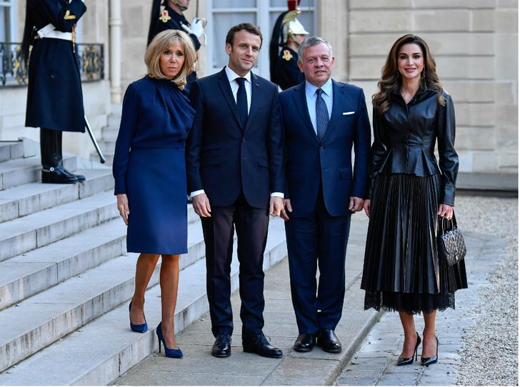 Фото №3 - Рания в Париже: как Брижит Макрон принимала королеву Иордании