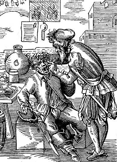 Фото №1 - Когда появились первые стоматологи?