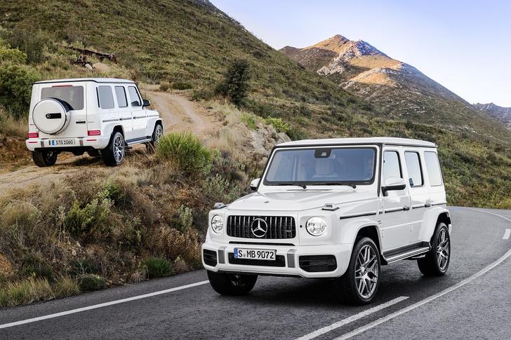 Фото №1 - Новый Mercedes-AMG G 63 умеет забираться на скалы