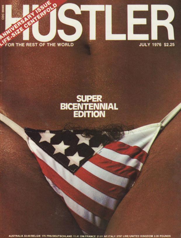 Фото №6 - Умер издатель Hustler Ларри Флинт. Вспоминаем лучшие обложки скандального журнала