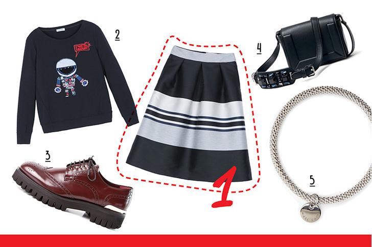 Фото №3 - С чем носить юбку-миди