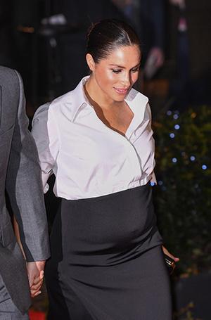 Фото №3 - Герцогиня Меган не изменяет традициям (почти): Сассекские на премии Endeavour