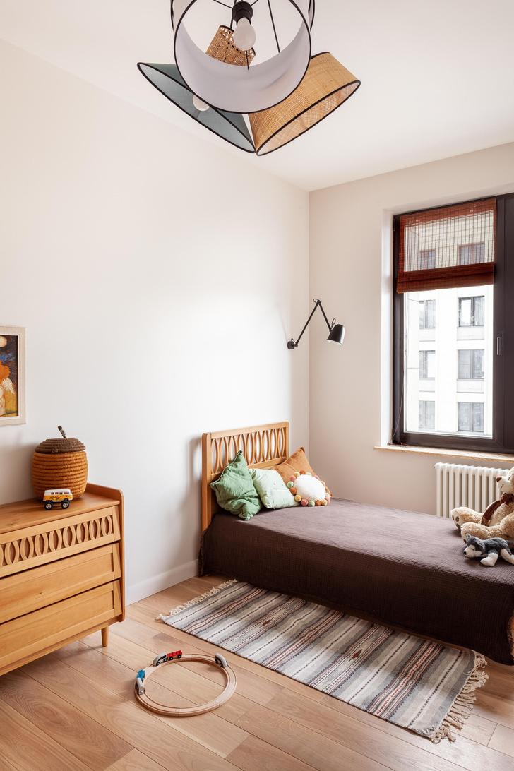 Фото №10 - Квартира в скандинавском стиле с печью