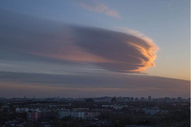 Фото №1 - Полет метеорита