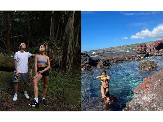 Фото №2 - Солнечные Гавайи: как Джастин и Хейли Бибер провели свой романтический отпуск 💞