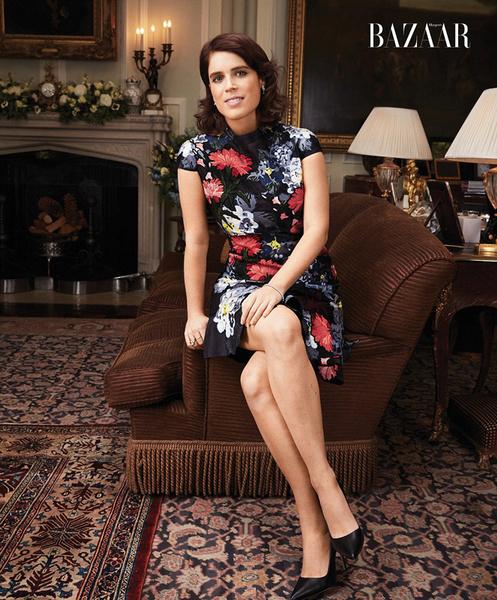 Фото №3 - Принцесса Евгения стала героиней британского Harper's Bazaar
