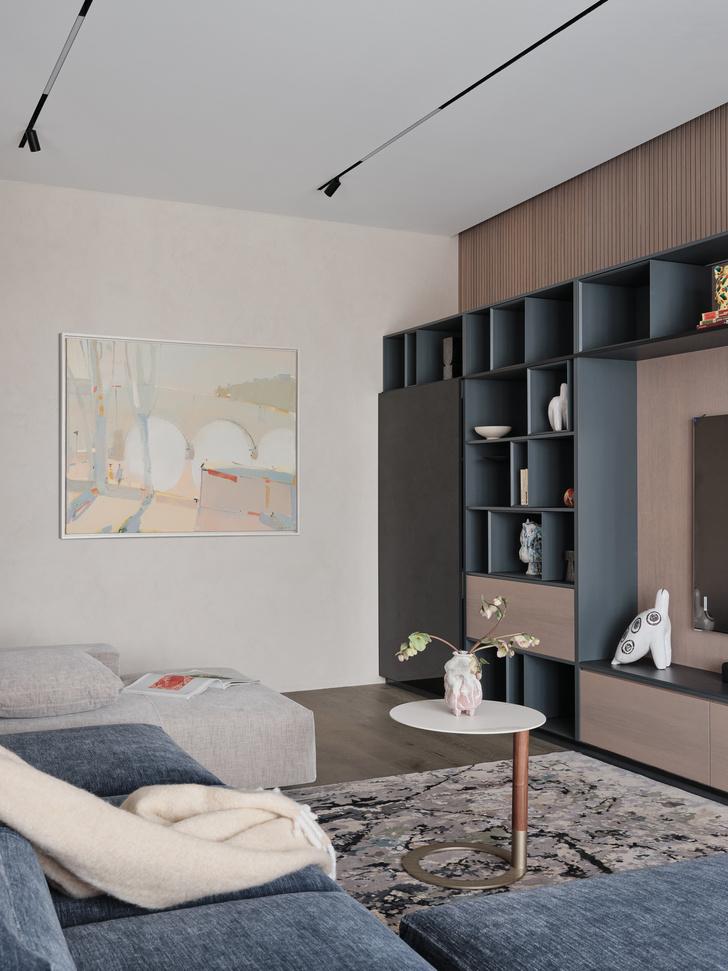 Фото №2 - Современная квартира 137 м² в Санкт-Петербурге