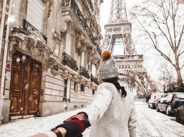 Фото №1 - Новый Год в Париже: Правый берег или Левый?