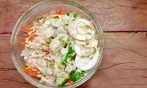 Овощной салат в японском стиле