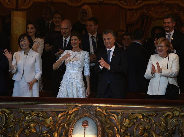 Фото №13 - G20 в Аргентине: самые яркие модные выходы Первых леди