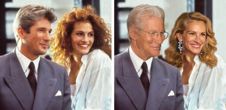 Фото №10 - Как выглядели бы постаревшие звезды в своих фильмах сейчас? (Немного грустная галерея)