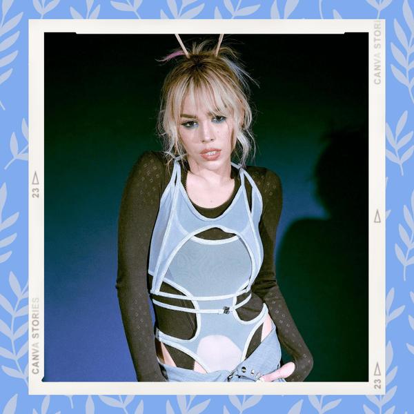 Фото №1 - Как сделать модный пучок с оригинальной заколкой: учимся у Данны Паолы