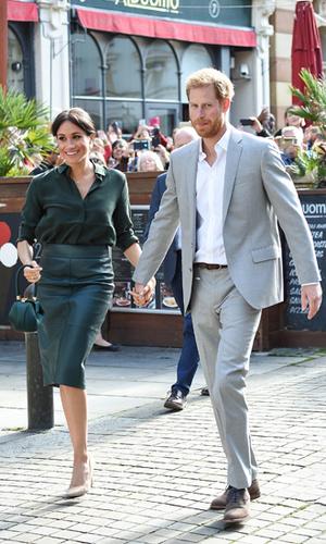 Фото №3 - Гарри и Меган – самая нежная королевская пара Великобритании