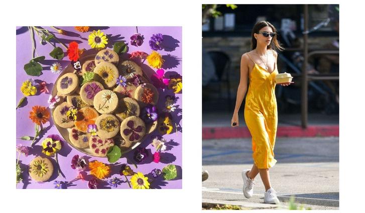Фото №8 - Фуд-тренд: ванильное печенье со съедобными цветами— лучшее украшение для вашего пикника