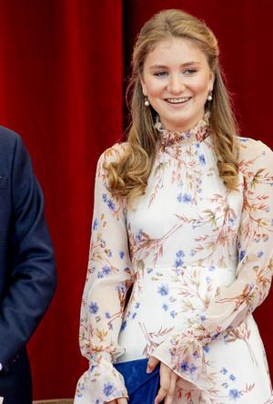 Фото №2 - «Бельгийская Кейт Миддлтон»: принцесса Элизабет и ее модные заявления